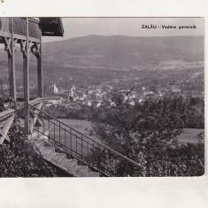 Bnk cp Zalau - Vedere generala - circulata - Carte Postala Crisana dupa 1918, Printata