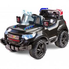 Masinuta electrica Toyz Patrol 2x6V cu telecomanda Negru - Masinuta electrica copii