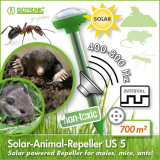 Aparat solar anti cartite rozatoare furnici Isotronic 70010, Anti-rozatoare