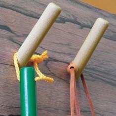5 ''cuiere'' speciale din lemn - Corp baie