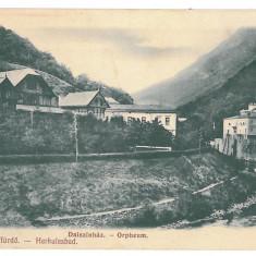 1309 - Caras-Severin, BAILE HERCULANE - old postcard - unused - Carte Postala Banat 1904-1918, Necirculata, Printata