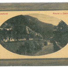 2204 - Caras-Severin, BAILE HERCULANE - old postcard - unused - Carte Postala Banat 1904-1918, Necirculata, Printata