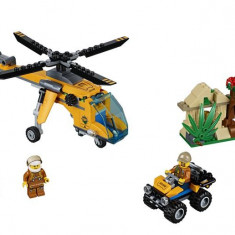 60158 Lego® City Elicopter De Marfa In Jungla