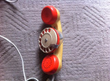 Telefon micro romanesc vechi anii 80 cu disc deranjamente reparatii telefonice