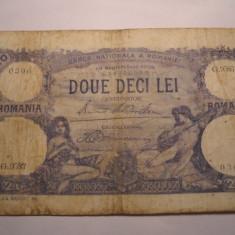 20 lei 1929 Septembrie - Bancnota romaneasca