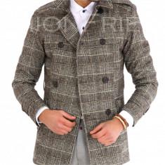 Palton carouri - palton barbati COLECTIE NOUA - cod 9572, Marime: S, M, L, XS, Culoare: Din imagine