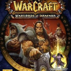 World Of Warcraft Warlords Of Draenor + 90 Level Boost Pc - Joc PC Blizzard