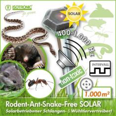 Aparat Solar cu vibratii si ultrasunete anti daunatori Solar Diamond Plus 70045 - Aparat antidaunatori, Anti-rozatoare