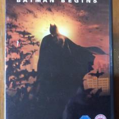BATMAN BEGINS - 2005 - FILM DVD ORIGINAL ( 2 DVD - SPECIAL EDITION ) - Film SF Altele, Engleza