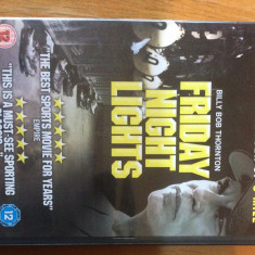 FRIDAY NIGHT LIGHTS - 2005 - FILM DVD ORIGINAL - Film drama Altele, Engleza