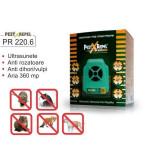 Aparat Pest Repeller cu ultrasunete anti rozatoare si insecte PR 220.6 Electronic, Anti-rozatoare