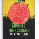 REBUS - CUVINTE INCRUCISATE , IN JURUL LUMII , 1958