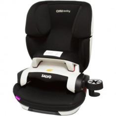 Scaun auto cu Isofix Salvo - Coto Baby - Negru - Scaun auto copii, 1-2-3 (9-36 kg)