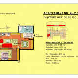 Apartament 2 camere Brasov, zona Tractorul - Apartament de vanzare, 51 mp, Numar camere: 3, An constructie: 2018, Parter