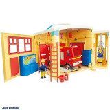 Jucarie Fireman Sam Electronic Fire Station Playset - Vehicul