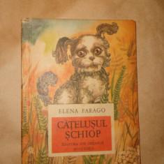 Catelusul schiop ( 30 poezii ) an 1974/ilustratii/93pag- Elena Farago - Carte poezie copii