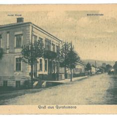 839 - Bucovina, Suceava, GURA HUMORULUI - old postcard, CENSOR - used - Carte Postala Bucovina 1904-1918, Circulata, Printata