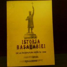 Istoria Basarabiei de la inceputuri pana in 1998, ed. a II-a revazuta - Carte Istorie