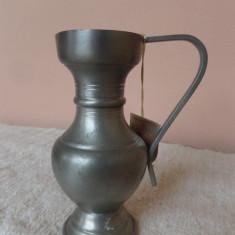 MINI VAZA DE ZINC - Vaza si suport flori