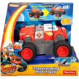 Masinuta Blaze And The Monster Machines Transforming Fire Truck - Masinuta electrica copii
