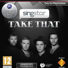 Singstar Take That  -  PS3 [Second hand], Simulatoare, 12+, Multiplayer
