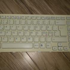 Tastatura Sony VPCEE4E1E PCG-61611M Suedeza - Tastatura laptop