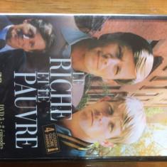 OM BOGAT, OM SARAC ( LE RICHE ET LE PAUVRE ) - FILM DVD ORIGINAL - Film serial Altele, Familie, Engleza