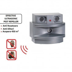 Aparat anti rozatoare Efective Triple Ultrasonic Pest Away Plus, Anti-rozatoare