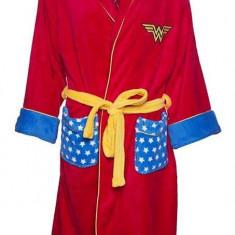 Halat De Baie Wonder Woman Dc Comics Retro Hoodless Robe