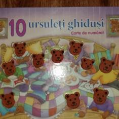 10 URSULETI GHIDUSI - CARTE DE NUMARAT