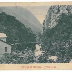 1679 - Caras-Severin, BAILE HERCULANE - old postcard - unused - Carte Postala Banat 1904-1918, Necirculata, Printata