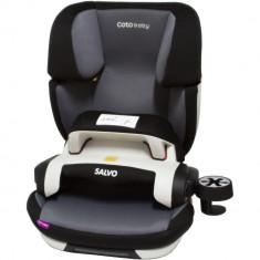 Scaun auto cu Isofix Salvo - Coto Baby - Gri - Scaun auto copii, 1-2-3 (9-36 kg)