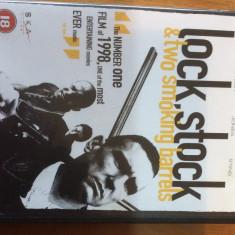 LOCK, STOCK AND TWO SMOKING BARRELS - 1998 - FILM DVD ORIGINAL - Film thriller Altele, Engleza