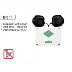 Dispozitiv impotriva pasarilor daunatoare profesional BR14, Anti-pasari