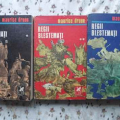 Regii Blestemati Vol.1-3 - Maurice Druon, 407762 - Roman