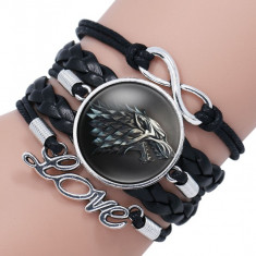 Bratara Game of Thrones Stark Love Got
