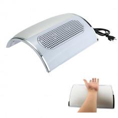 ASPIRATOR MANICHIURA 3 ventilatoare - colector praf unghii false gel/acryl