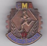 Insigna GMA Reconfirmare