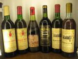 6 sticle vin vechi, de collection ( LOT: FRANTIA ), Sec, Rosu, Europa
