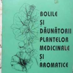Bolile Si Daunatorii Plantelor Medicinale Si Aromatice - Mihai Mititiuc, Mircea Hatman, Constantin Filipesc, 407669 - Carti Agronomie