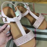 Sandale dama roz marime  37,  40+CADOU