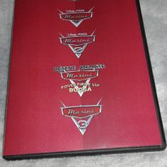 Disney Masini - Cars colectie completa 4 DVD dublat romana - Film animatie disney pictures