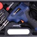 Trusa pistol de lipit 200 W si accesorii POWERUP