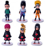 Set Figurina Naruto Shippuden Sasuke Itachi Deidara 11 cm