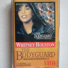 WHITNEY HOUSTON, THE BODYGUARD ! CASETA AUDIO - Muzica Dance, Casete audio