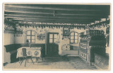 3693 - BISTRITA, Odaie Saseasca - old postcard, real PHOTO - unused - 1931