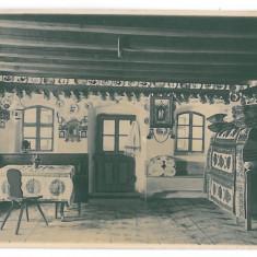 3693 - BISTRITA, Odaie Saseasca - old postcard, real PHOTO - unused - 1931