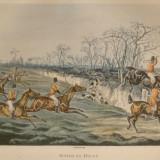 SNOB IS BEAT. Litografie din anul 1835
