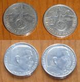 7 monede Germania din argint ; 5 marci 1913 ; 3 marci 1914 ; 76,8 grame, Europa