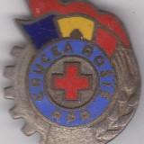 Insigna Crucea Rosie RPR